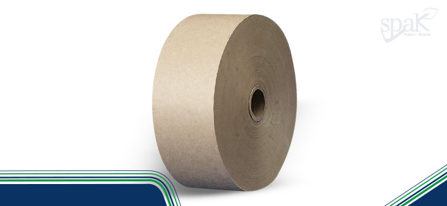 Gum tape paper